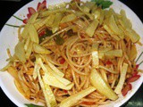 Tomato - Capsicum Cheese Noodles