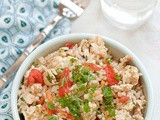 Healthy one pot turkey pilaf