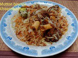 Pakistani style_Mutton Biryani_Step by step recipe
