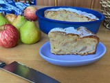 Covid-19 lockdown recipe 6: a super soft and super easy (and dairy free) apple and pear cake