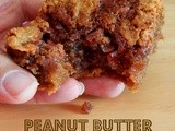 Peanut Butter & Jam Oatmeal Bars