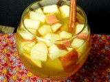 Apple Cider Sangria #Nyanuary #FandomFoodies