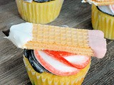 Back to School Pencil Cupcakes