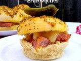 Baked Ham & Cheese Sandwiches