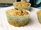 Banana Chip Oat Muffins
