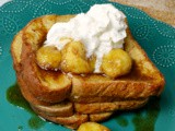 Bananas Foster French Toast #FoodiesRead