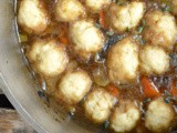 Beef Stew with Dumplings #SoupSwappers