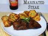 Beer Marinated Sirloin Steaks