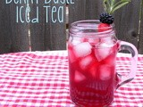 Berry Basil Iced Tea