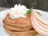 Chai Apple Multigrain Pancakes #appleweek
