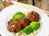 Chicken Teriyaki Meatballs