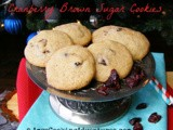 Cranberry Brown Sugar Cookies: 2013 Christmas Cookie Recipe Swap