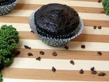 Double Chocolate Kale Muffins