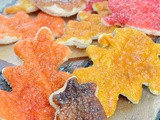Fall Leaf Pie Crust Cookies