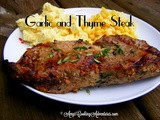 Garlic-Thyme Steak