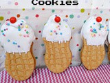 Nutter Butter Ice Cream Cone Cookies National Peanut Butter Day