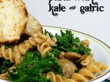 Pasta with Kale & Garlic