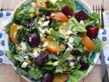 Roasted Beet Salad with Feta #SecretRecipeClub