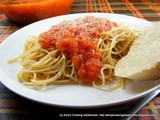 Simple Homemade Tomato Sauce