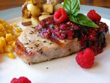 Spicy Raspberry Sauce for Pork Chops