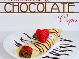 Strawberry & Chocolate Crepes