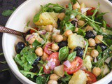 Easy Italian Chickpea Salad
