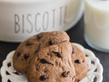 Gocciole Italian Double Chocolate Chip Cookies