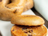 Homemade Cinnamon Raisin Bagels