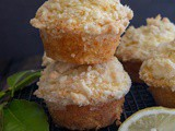 Lemon Muffins with a Crumb Topping