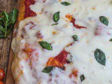 No Knead Pizza Dough – Pizza Margherita