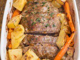 Pumpkin & Cheese Stuffed Meatloaf
