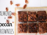 Super Fudgy Almond and Pecan Brownies