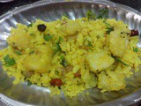 Batata pohe recipe,how to make aloo poha