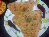Kasuri Methi Paratha Recipe ,Dried fenugreek leaves parathe