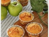 Apple Cheese Cupcakes