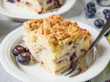 Blueberry and Lime Coffee Cake