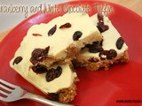 Cranberry and White Chocolate Tiffin