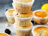 Lemon and Blackberry Poppy Seed Muffins