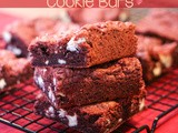 White Chocolate Chunk Red Velvet Cookie Bars