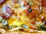 Spinach, Bacon + Leek Quiche