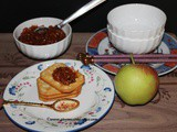 Apple Chundo (Fiery Hot Apple Preserve)