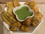Mixed Bhajia/Pakoras
