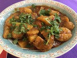 Potato Curry using Pataks Jalfezi Sauce in Instant Pot Review