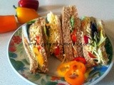 Sandwiches:  Cheese and Pepper salad