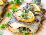 Broiled Parsley and Oregano Trout {Gluten-Free, Dairy-Free}