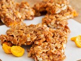 Gluten-Free Golden Berry Granola Bars