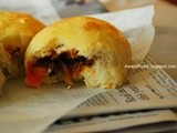 Chili Anchovies Buns (Gelatinized Dough)