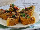 Chinese Steamed Pumpkin Cake 蒸金瓜糕