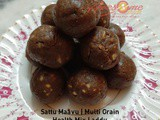 Sattu Maavu | Multi Grain Health Mix Laddu