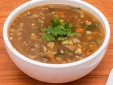 Vegetable Hot and Sour Soup